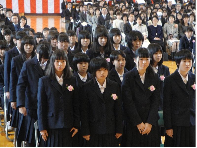 山形北高等学校制服画像